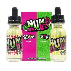 Num Skullz Stranana & Wapple 30мл (0мг) - Жидкость для Электронных сигарет (Clone)