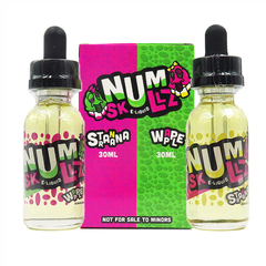 Num Skullz Stranana & Wapple 30мл (3мг) - Жидкость для Электронных сигарет (Clone)