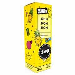 Ohm Nom Nom (New) Banana Punani 120мл (3мг) - Жидкость для Электронных сигарет