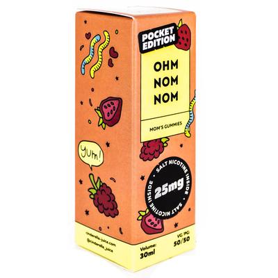 Ohm Nom Nom Salt Mom's Gummies 30мл (25мг) - Жидкость для Электронных сигарет