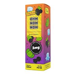 Ohm Nom Nom Summer Black Currency 120мл (3мг) - Жидкость для Электронных сигарет