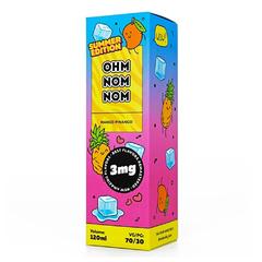 Ohm Nom Nom Summer Mango Pinango 120мл (3мг) - Жидкость для Электронных сигарет