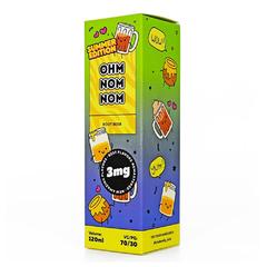 Ohm Nom Nom Summer Root Beer 120мл (3мг) - Жидкость для Электронных сигарет