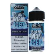 One Hit Wonder Island Man Iced 100мл (3мг) - Жидкость для Электронных сигарет