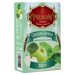 Pelikan Green Apple Mint 50г - Табак для Кальяна