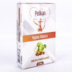 Pelikan Green Apple Cinnamon 50г - Табак для Кальяна