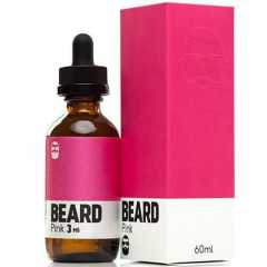 New Beard Pink 60мл (3мг) - Жидкость для Электронных сигарет (Clone)