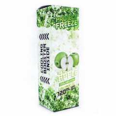 Project Freeze Green Apple 120мл (3мг) - Жидкость для Электронных сигарет (Clone)