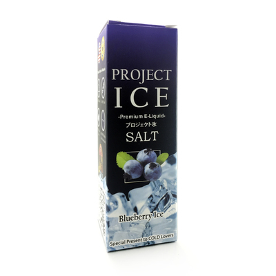 Project Ice Blueberry Ice Salt 60мл (35мг) - Жидкость для Электронных сигарет (Clone)