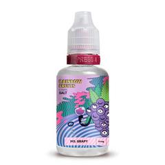 Rainbow Fruits Salt Ms Grapy 30мл (25мг) - Жидкость для Электронных сигарет