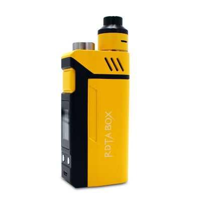 iJoy RDTA Box 200W (Стартовый набор) (Чёрный, жёлтый)