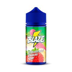 BLAZE Strawberry Banana Gum 100ml (0мг) - Жидкость для Электронных сигарет