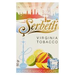 Serbetli Ice Citrus Mango 50г - Табак для Кальяна