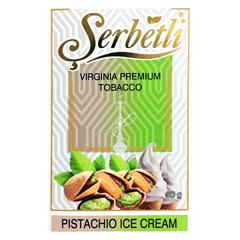 Serbetli Pistachio Ice Cream 50г - Табак для Кальяна