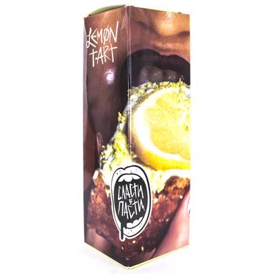 Сласти В Пасти Lemon Tart 100мл (3мг) - Жидкость для Электронных сигарет