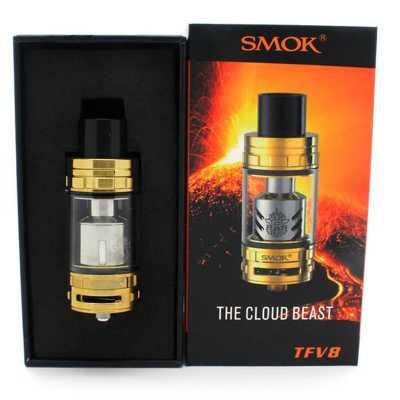 Атомайзер SmokTech Smok TFV8 (Золотой)