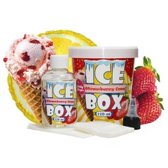 Ice Box Strawberry Cone 120мл (3мг) - Жидкость для Электронных сигарет