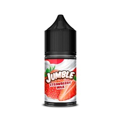 Jumble Salt Strawberry Milk 30мл (20мг) - Жидкость для Электронных сигарет