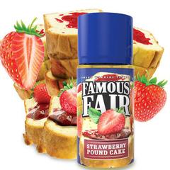 Famous Fair Strawberry Pound Cake 100мл (3мг) - Жидкость для Электронных сигарет