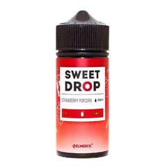 Sweet Drop Strawberry Popcorn 100мл (3мг) - Жидкость для Электронных сигарет