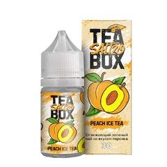 Tea Box Salt Peach Tea 30мл (20мг) - Жидкость для Электронных сигарет