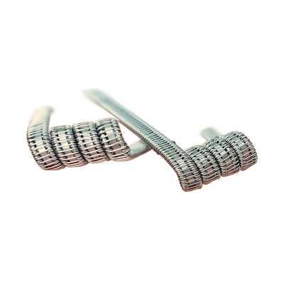 Готовая спираль UD Staple Staggered Fused Clapton Coil (2шт)