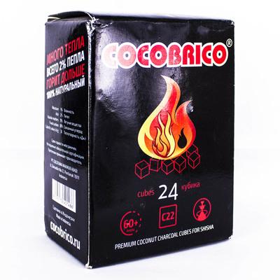 Уголь для Кальяна Cocobrico C22 (24шт)