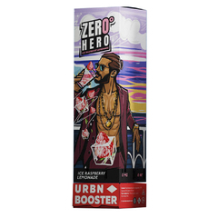 URBN Zero Hero Ice Raspberry lemonade 95мл (3мг) - Жидкость для Электронных сигарет