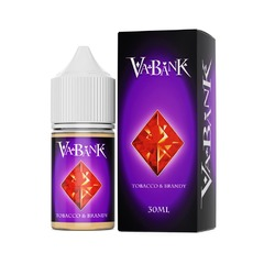 Va Bank Tobacco & Brandy 30мл (6мг) - Жидкость для Электронных сигарет