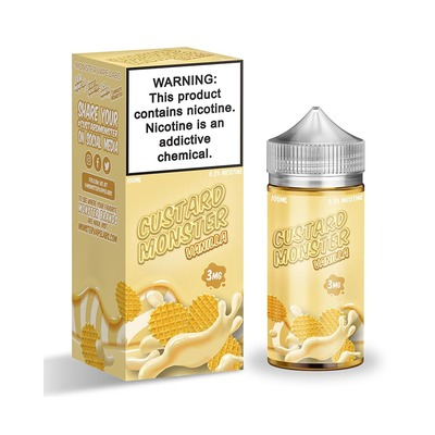 Custard Monster Vanilla 100мл (3мг) - Жидкость для Электронных сигарет