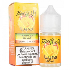 Zenith Salt Lyra 30мл (20мг) - Жидкость для Электронных сигарет