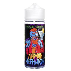 Zombie Party Лимон с Черникой 120мл (3мг) - Жидкость для Электронных сигарет